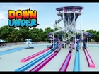 DownUnder (aka Bonzai Pipelines) - Six Flags America & Six Flags New England - Animation