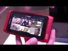 Web TV on the Nokia N8 (Symbian^3) at Nokia World 2010 by Test-Mobile.fr