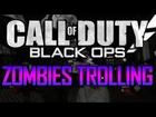 Call of Duty Black Ops Zombies Trolling: Nerd Meets Squeaker and MILF (Funny Zombies Trolling)