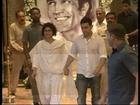 Aamir Khan at Rajesh Khanna's chautha.