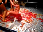 Threesome  Jello Girls Fighting