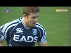 Leigh Halfpenny opening penalty from late hit - Scarlets v Cardiff Blues 20th Apr 2013