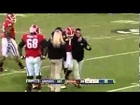 Georgia Quarterback Aaron Murray Injured His Left Knee And Leaves Game (VIDEO)