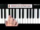 Easy Piano Lessons - E Minor Scale Tutorial
