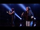 Hayley and Nicole's performance - Kelly Rowland's Stronger - The X Factor UK 2012