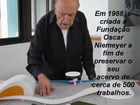 Oscar Niemeyer por Gabriela dos Santos de Souza - Casas Brasileiras - Arquitetura Brasileira.