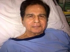 Dilip Kumars Photo From Hospital