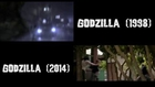 Comparison Between Godzilla 1998 & 2014 Trailers
