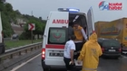 Akçaabat Salacık Tonya Minibüsü Kaza 15 yaralı